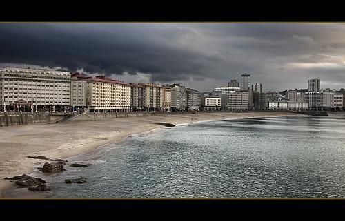 Playas en Coruña 01