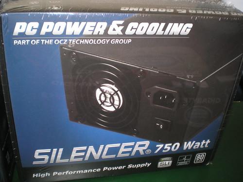 PC Power & Cooling Silencer 750 watt