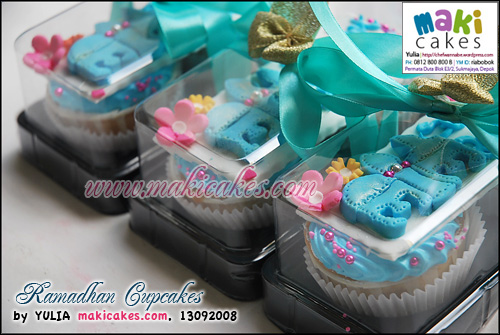 Ramadhan Cupcakes_Gift_ - Maki Cakes