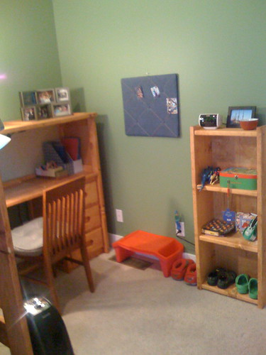 Andrew's new room
