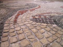 Roman mosaic of horses
