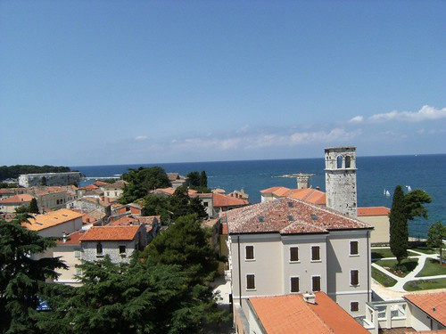 View from Tower Towards Sea