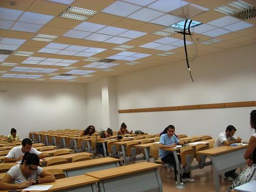 Edificio Leonardo Da Vinci Campus Universitario Rabanales. Aulas sin ventanas