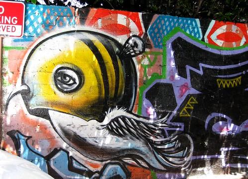 Graffiti Wall by dyannaanfang