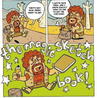 Magic Sketchbook Sample