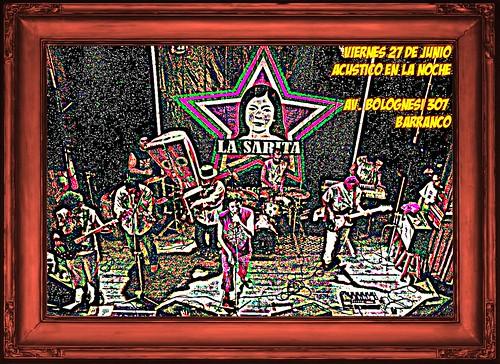 Afiche La Sarita