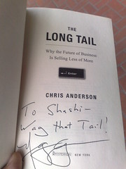 "Wag the Tail, ""The Long Tail"" Autographed"
