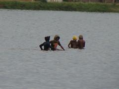 Fishermen at Marais Masay