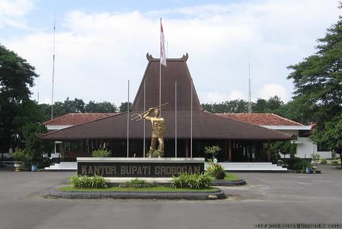 Pendopo Kabupaten Grobogan Purwodadi