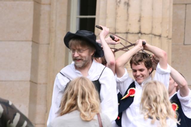 Sword Dancing at York, May 2008