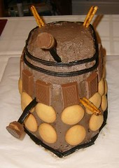 Front of the Dalek cake