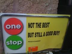 Honest Advertising at Stop & Shop