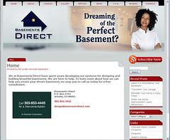 Basements Direct website