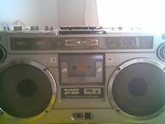 SHARP portable hi-fi stereo
