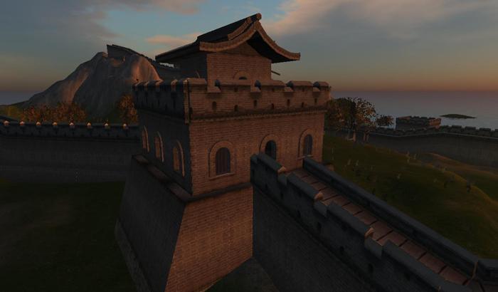 The (Virtual) Great Wall of China