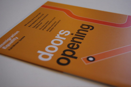 Doors Opening annual report cover