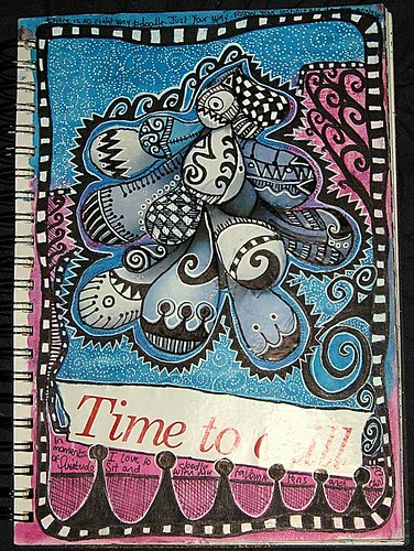 Time To Chill Journal Page