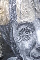 Angela Merkel painted portrait _DDC8549
