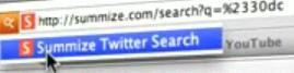Google Reader - Summize Search Install Button