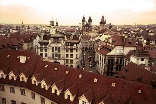 Prague (From Above) - Photo : Gilderic