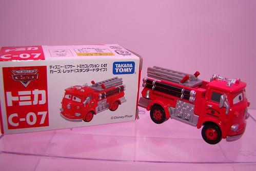 tomy pixar/disney CARS RED