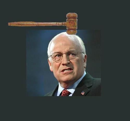 Dick Cheney's Day in Court