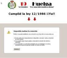 la web del ministerio tumbada por la huelga informatica por fotosalbacity.
