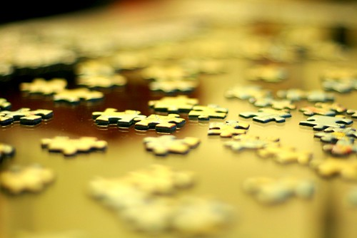 but part of the puzzle of life, discovery and learning