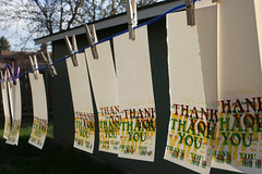 Thank You Note Letterpress
