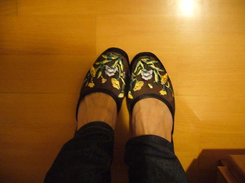 繡花拖鞋 11