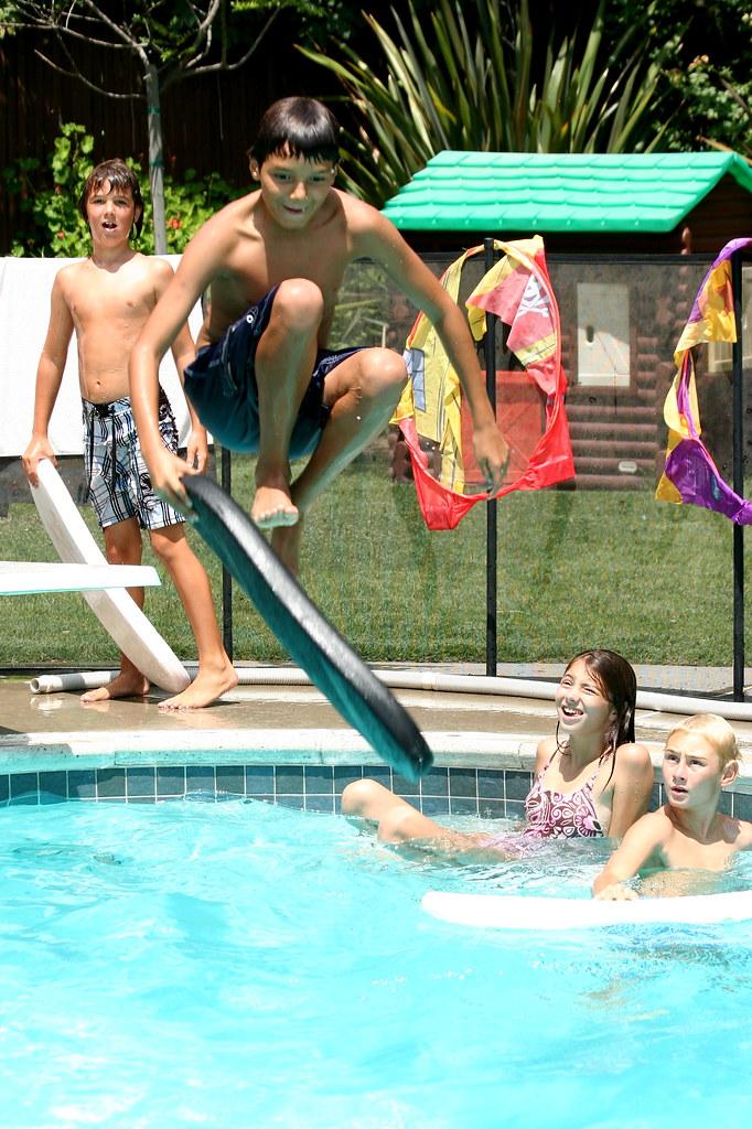at Rachel's pool