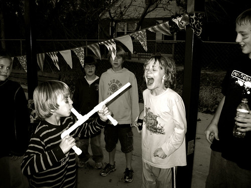 marshmallow shooter by you.