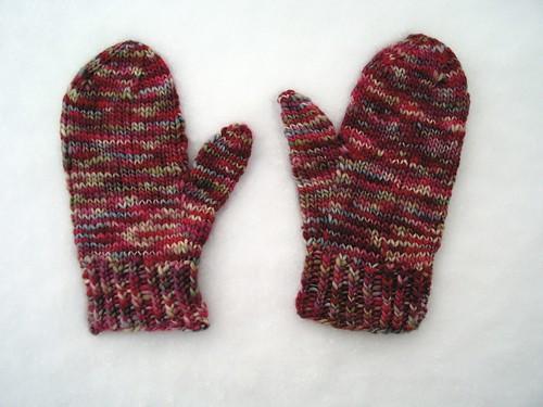 The infamous snow mitten shot