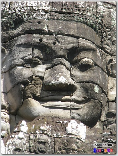 Smiling Faces of Angkor