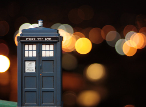 TARDIS Bokeh by Capt. Tim.
