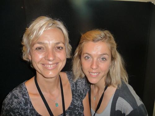 Atka Reid (left) and Hana Schofield