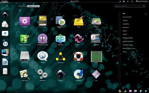 Ubuntu 11.04 running Gnome3