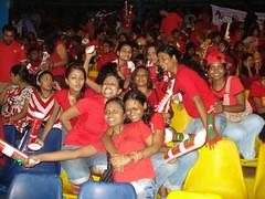 Maldian Fans in Colombo