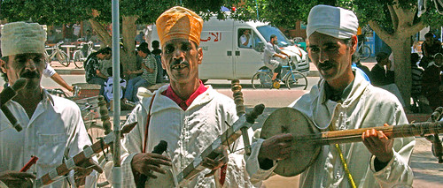 Musicians in Morocco