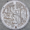 Photo:#2287 manhole cover By