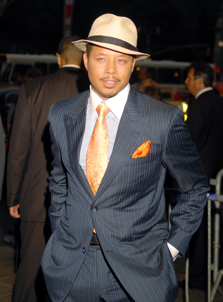 TERRENCE HOWARD PHOTO BY RONNIE WRIGHT