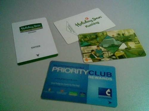 STP's hotel key cards 2