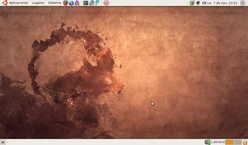 Ubuntu 8.10 Intrepid Ibex + Asus eeePC 1000H