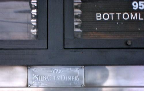 Silk City Diner Tag