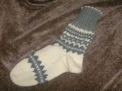 Nordic Grey Socks