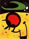 Joan Miró. Vuelo de pajaros .1491.