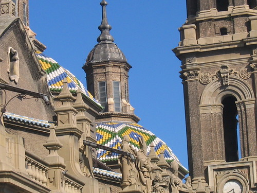 The roof of Nuesta Senora del Pilar