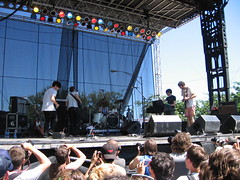 Foals @ Lollapalooza, Chicago 08/02/08