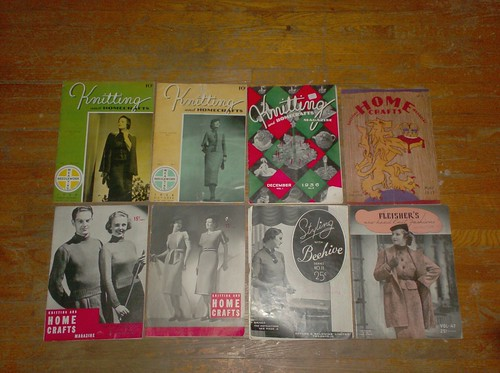 Vintage Knitting Magazines