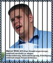 Marcel Wöll NPD-Nazi und Bewährungsversager